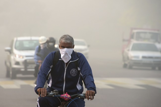 LAMPUNG POST | India Darurat Polusi Udara