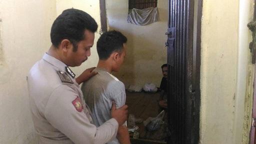 LAMPUNG POST | Polisi Bekuk Pembobol Kantor Kecamatan Gadingrejo