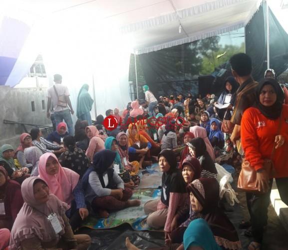 570 Pekerja Dilibatkan Menyortir dan Melipat Surat Suara di Lamteng