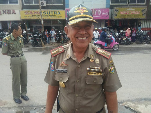 LAMPUNG POST | Pol PP Kota Bandar Lampung Kembali Razia Anjal dan Pengemis