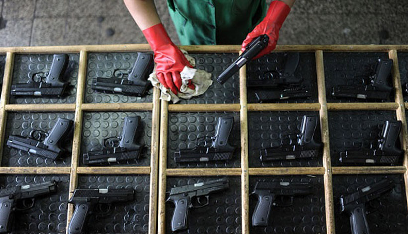 LAMPUNG POST   Perbakin Datangkan Ratusan Senjata dan Jutaan Amunisi dari Luar Negeri
