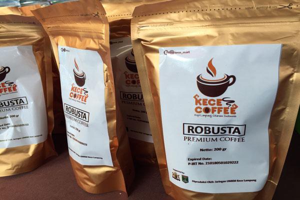 LAMPUNG POST | Produk Kece Kopi Robusta Lampung Tengah Menasional