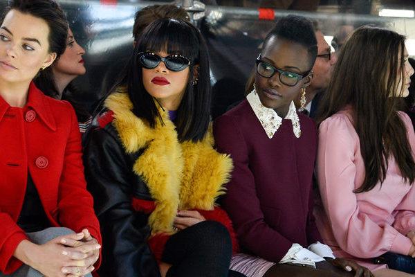 LAMPUNG POST | Foto Rihanna-Lupita Nyong'o yang jadi Viral Bakal Dijadikan Film