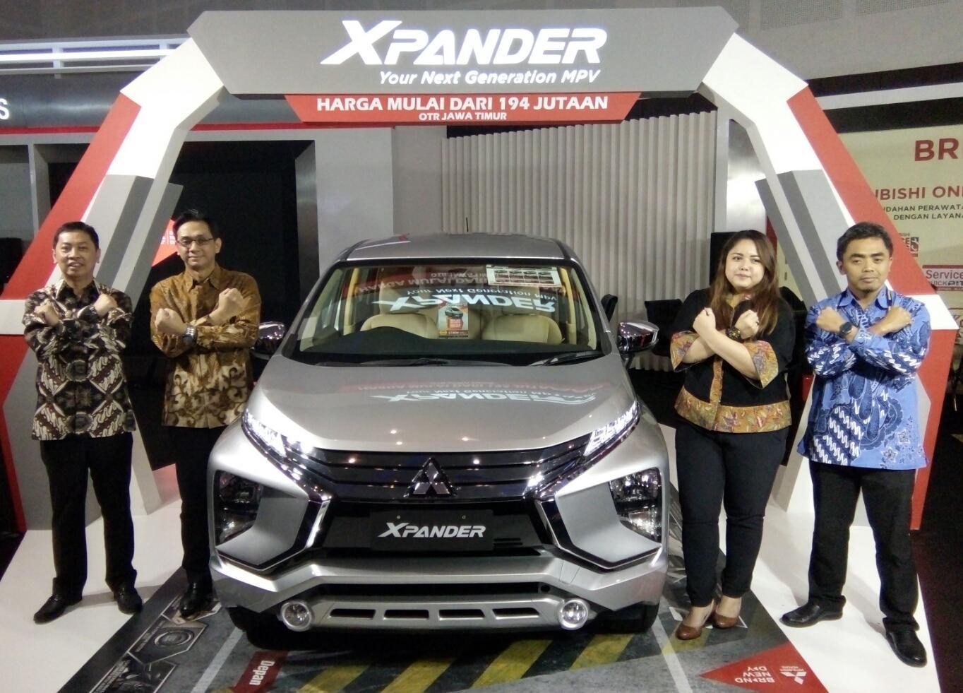 LAMPUNG POST | Mitsubishi Hadirkan Xpander di GIIAS Surabaya Auto Show 2017