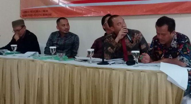 LAMPUNG POST | Hari Pertama Pendaftaran Parpol di Tulangbawang Masih Sepi