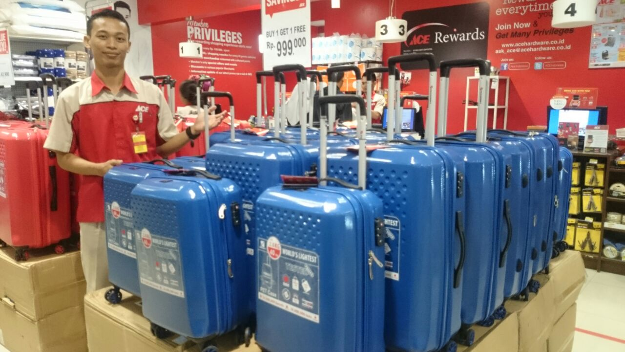 LAMPUNG POST | ACE Hardware Beri Promosi Air Cooller