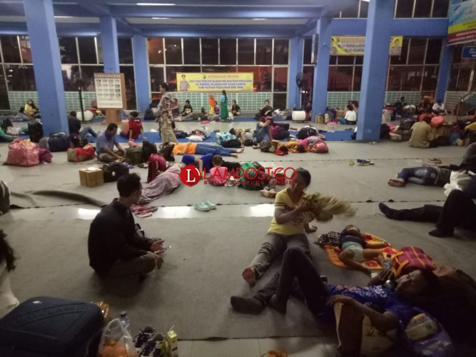 517.045 Pemudik Tinggalkan Jawa Melalui Pelabuhan Merak