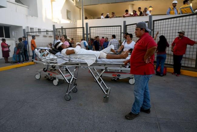 LAMPUNG POST | Pasca Gempa, Satu Juta Rumah di Meksiko Tanpa Listrik