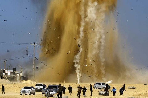LAMPUNG POST   Pertahankan Kendali atas Jalur Gaza, Pemerintah Palestina Kumpulkan Hamas dan Fatah
