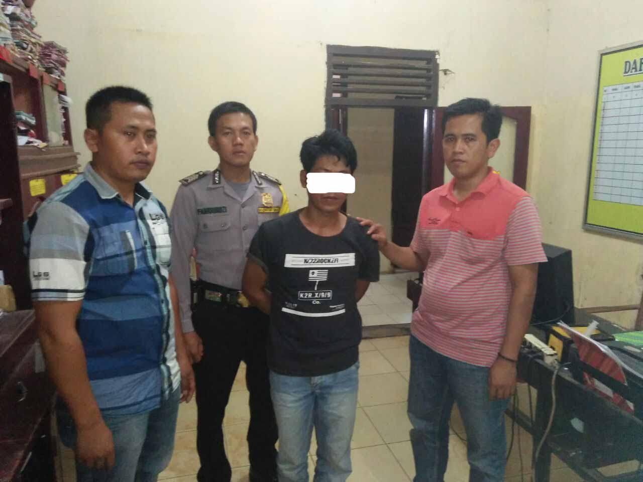 Buron 4 Tahun, Pencuri Motor Ditangkap Petugas