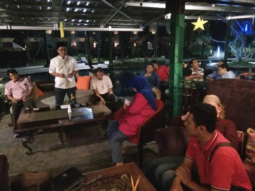 LAMPUNG POST | Pererat Silaturahmi, Redaksi Lampung Post Gelar Buka Puasa Bersama