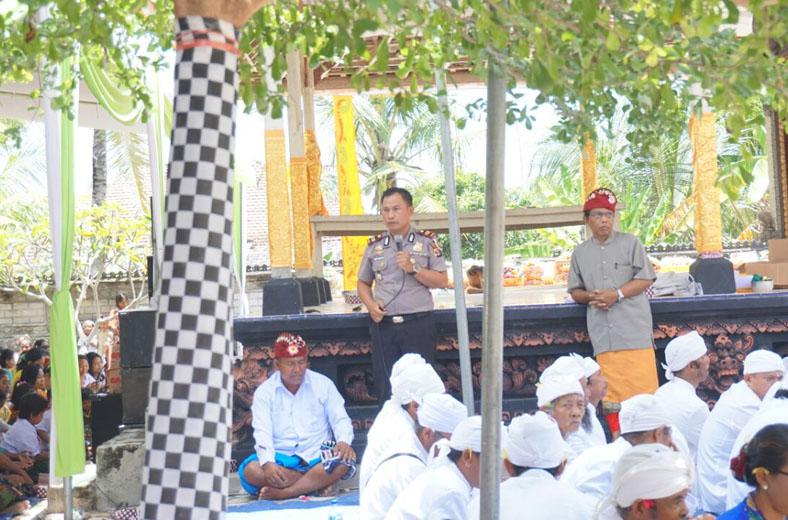 10 Pencalang Siap Jaga Kamtibmas Nyepi di Balinuraga