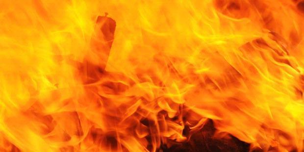 LAMPUNG POST | Gudang Pelet di Gadingrejo Terbakar