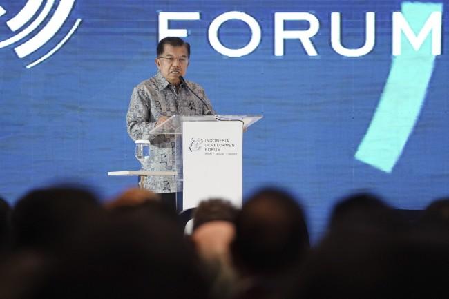 Wapres JK Minta Media Siber Sajikan Berita Objektif