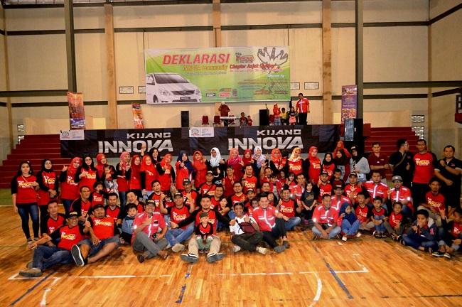 LAMPUNG POST | Pengguna Deklarasikan Innova Community Lampung Barat