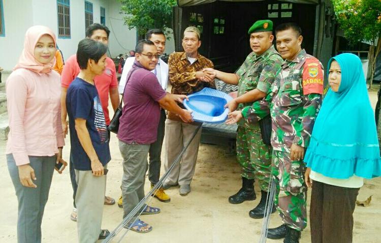 Koramil 412-01 TBT dan Kodim 0412/Lampura Adakan Jambanisasi di Tiyuh Pagar Jaya