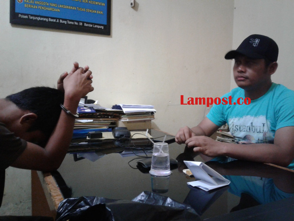 LAMPUNG POST | Pengembangan Hasil Razia, Polisi Bekuk Pengedar Narkoba