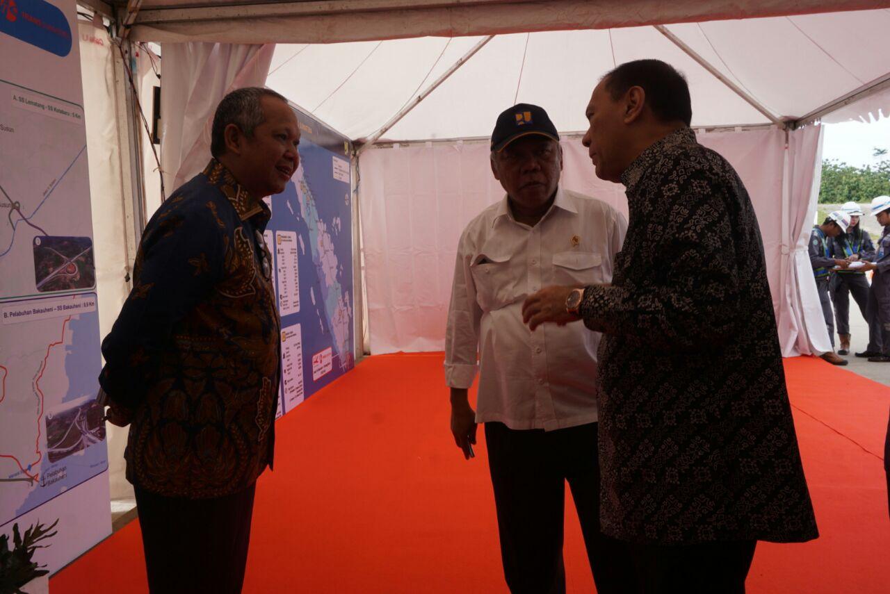 LAMPUNG POST | Tol Sumatera Peringan Biaya LogistikAngkutan Komoditas
