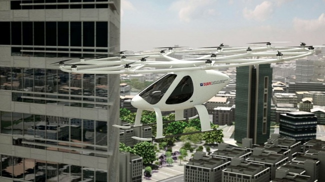 LAMPUNG POST | Dubai Mulai Uji Coba Taksi Terbang