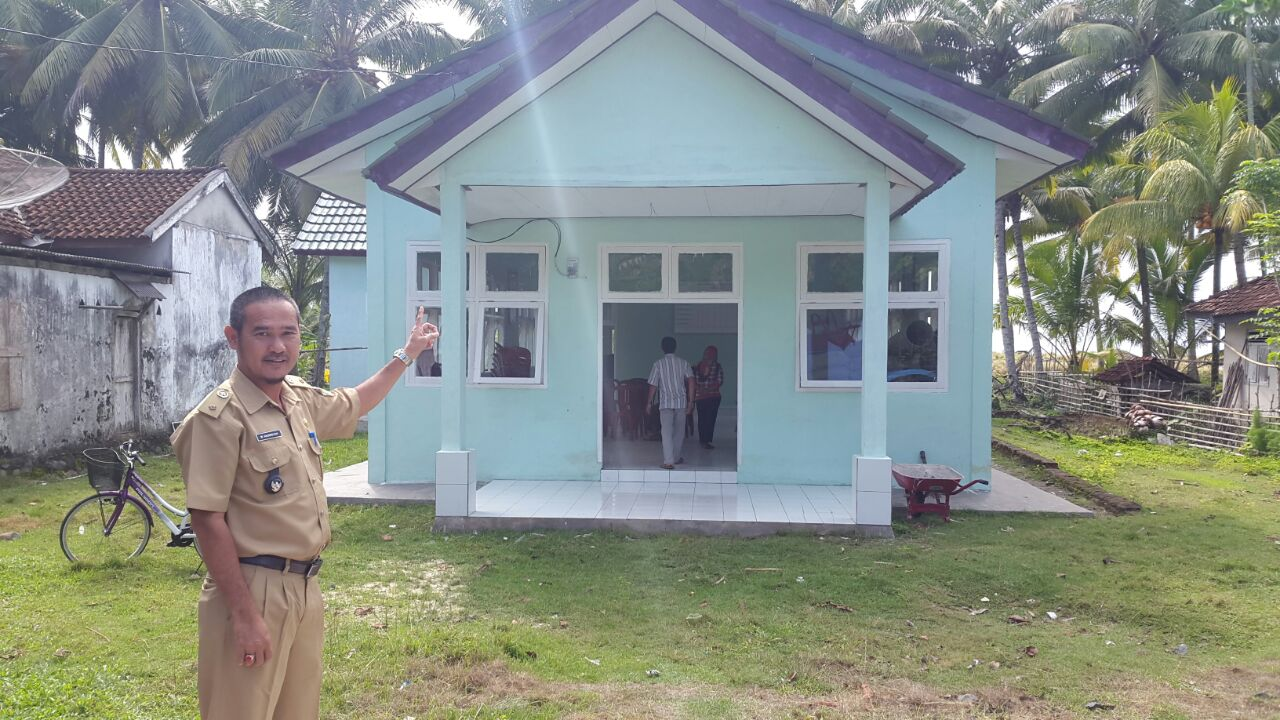 Warga Pekon Kuripan Nikmati Program Gerbang Desa Saburai