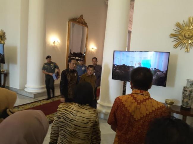 LAMPUNG POST | Jokowi 'Semprot' Kementerian/Lembaga yang tak Raih WTP