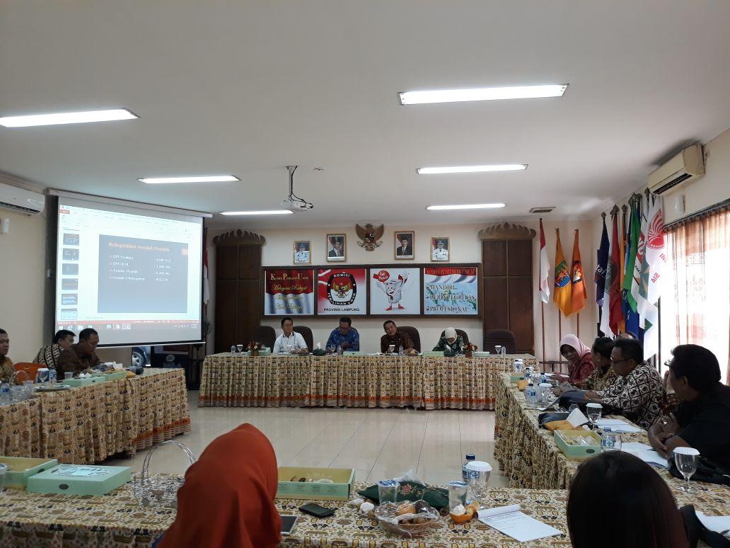 Komisi I DPRD Cek Kesiapan Penyelenggara Pilkada