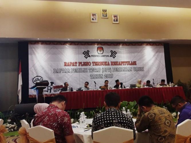 54.943 Pemilih Bermasalah Masih Tersebar di Lampung