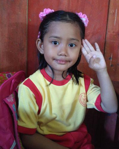 LAMPUNG POST | Aulia Tunggadewi  Ingin Menjadi Polwan