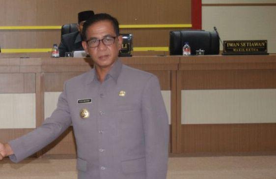 LAMPUNG POST | Dukung Jalan Tol, Menteri Apresiasi Pemkab Mesuji