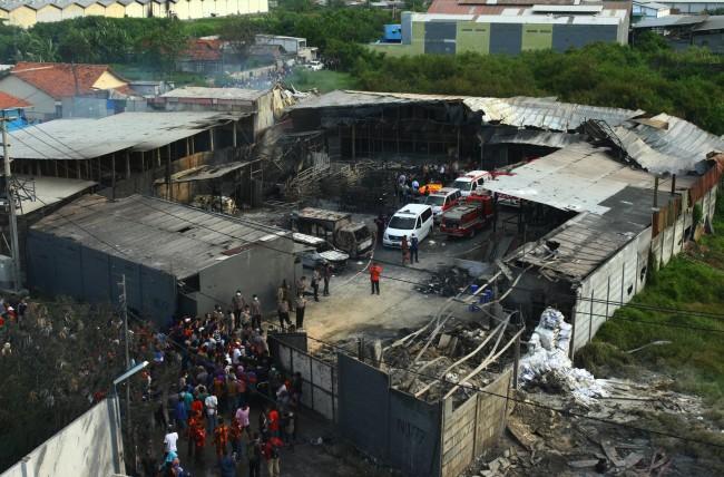 Hari Ini, Polisi Umumkan Tersangka Kebakaran Pabrik Petasan