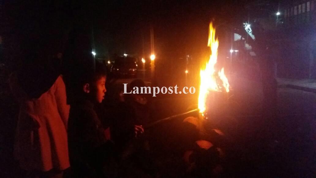 LAMPUNG POST | Warga Batubrak Semarakkan Tradisi Malaman Pitu Likukh
