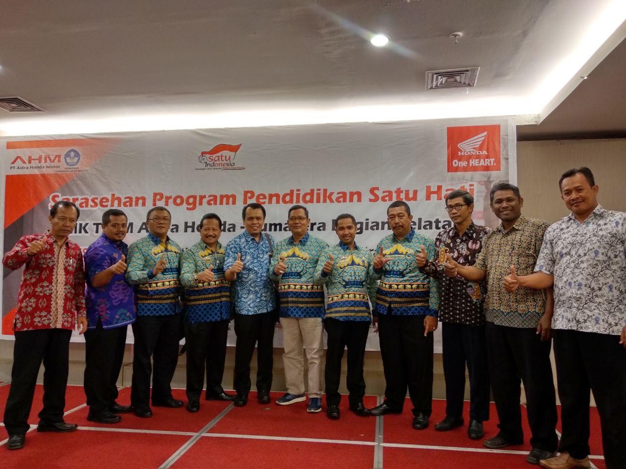 20 SMK Lampung Ikuti Pendidikan Satu Hati di Palembang