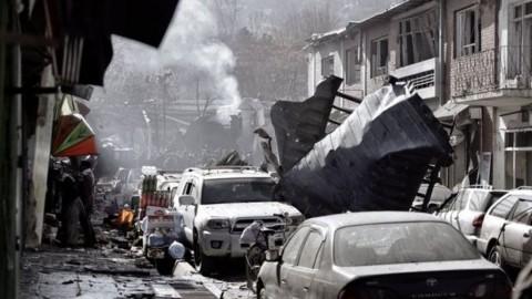 Bom Bunuh Diri di Kabul Afganistan, 63 Orang Tewas