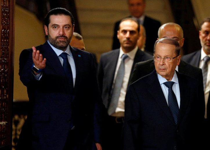 LAMPUNG POST | PM Lebanon Kabur ke Prancis