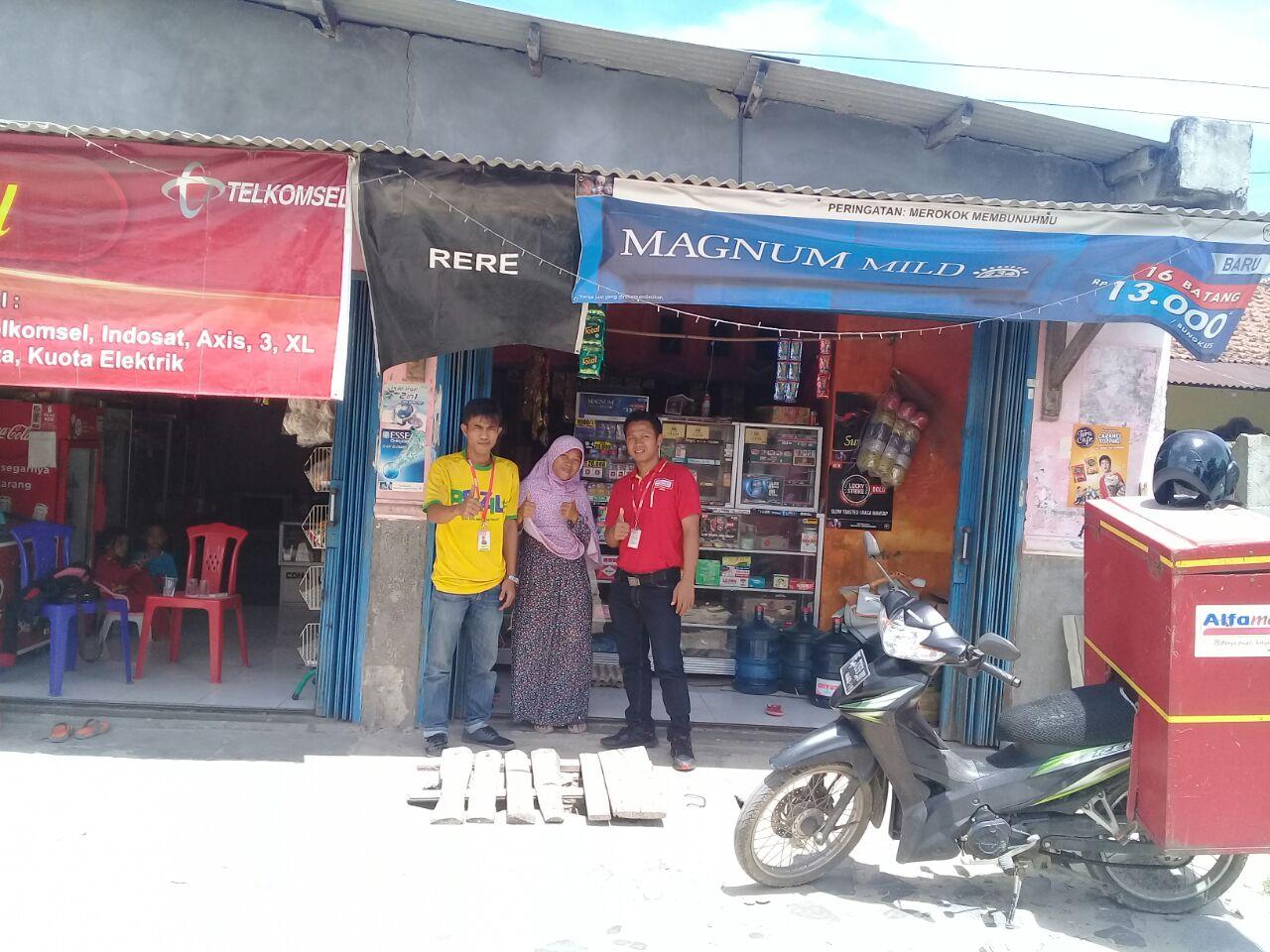 Rianto Jadi Pemenang Pedagang Alfamart Lampung