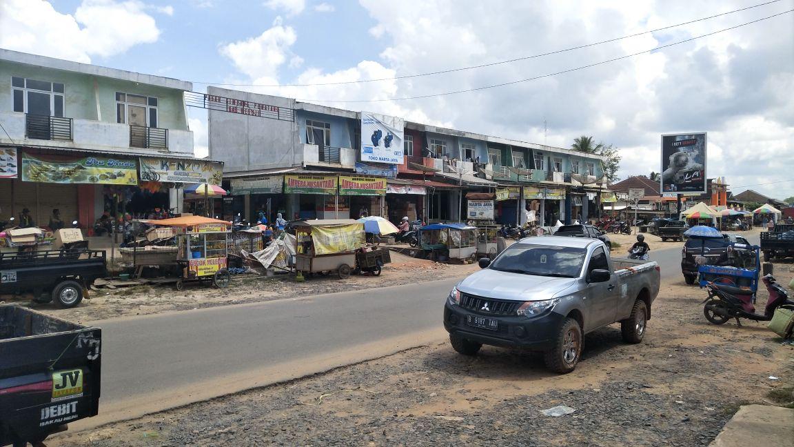 Banyak PNS dan Anggota Dewan Menunggak Pelunasan Bangunan Pasar Simpang Pematang
