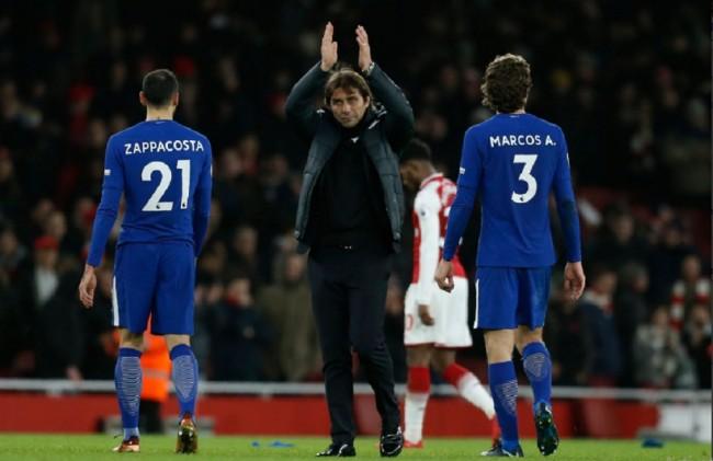 LAMPUNG POST | Conte Tegaskan Chelsea Masih Percaya ke Morata dan Batshuayi