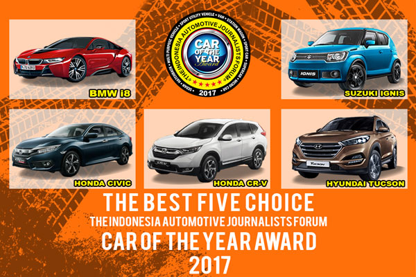 LAMPUNG POST | 5 Mobil Masuk Nominasi Forwot Car of the Year