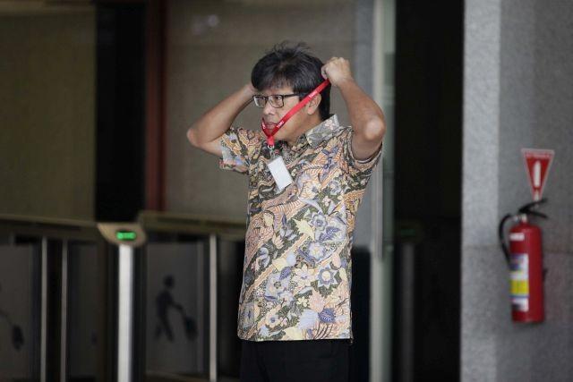 LAMPUNG POST | KPK Periksa Dirut PT Quadra sebagai Tersangka Kasus KTP-el