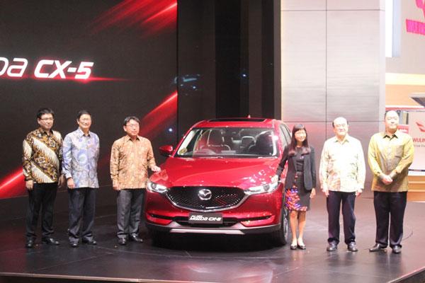 LAMPUNG POST | Mazda CX-5 Resmi Mengaspal