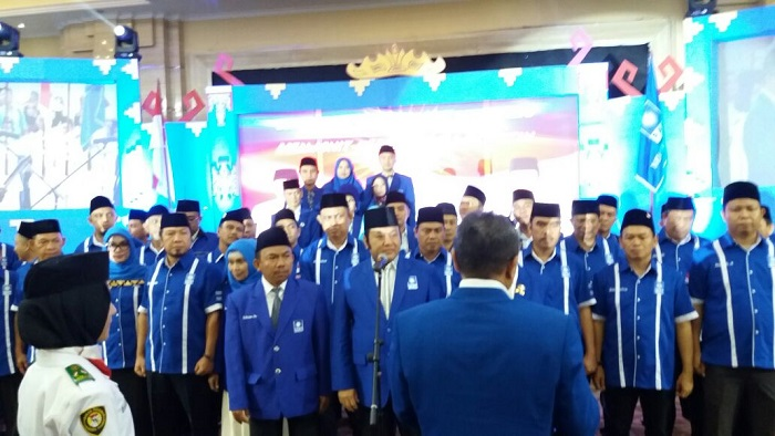 LAMPUNG POST | VIDEO: Pengurus DPW PAN Lampung Dilantik