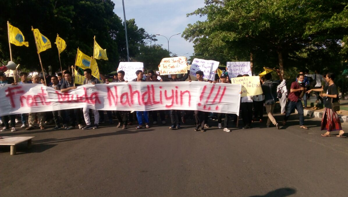 LAMPUNG POST | Forum Penegak Kehormatan NU Lampung Laporkan Bupati Lampung Selatan ke Polda