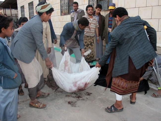 LAMPUNG POST | Serangan Udara Koalisi Arab Tewaskan 12 Warga Sipil Yaman