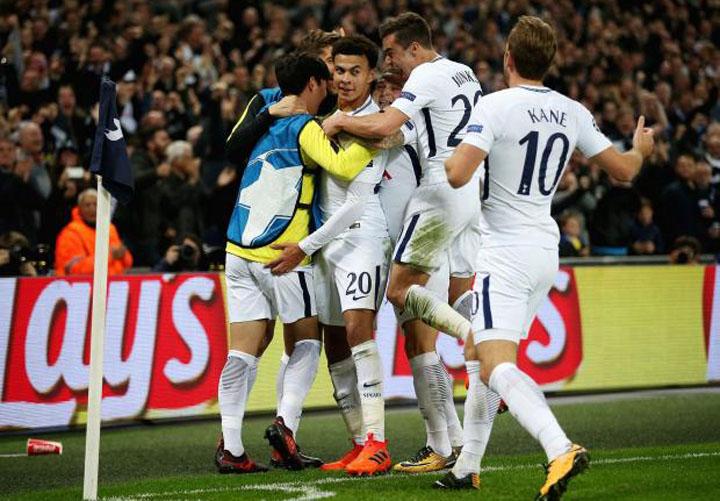 Pecundangi Madrid, Spurs Lolos ke Babak 16-Besar