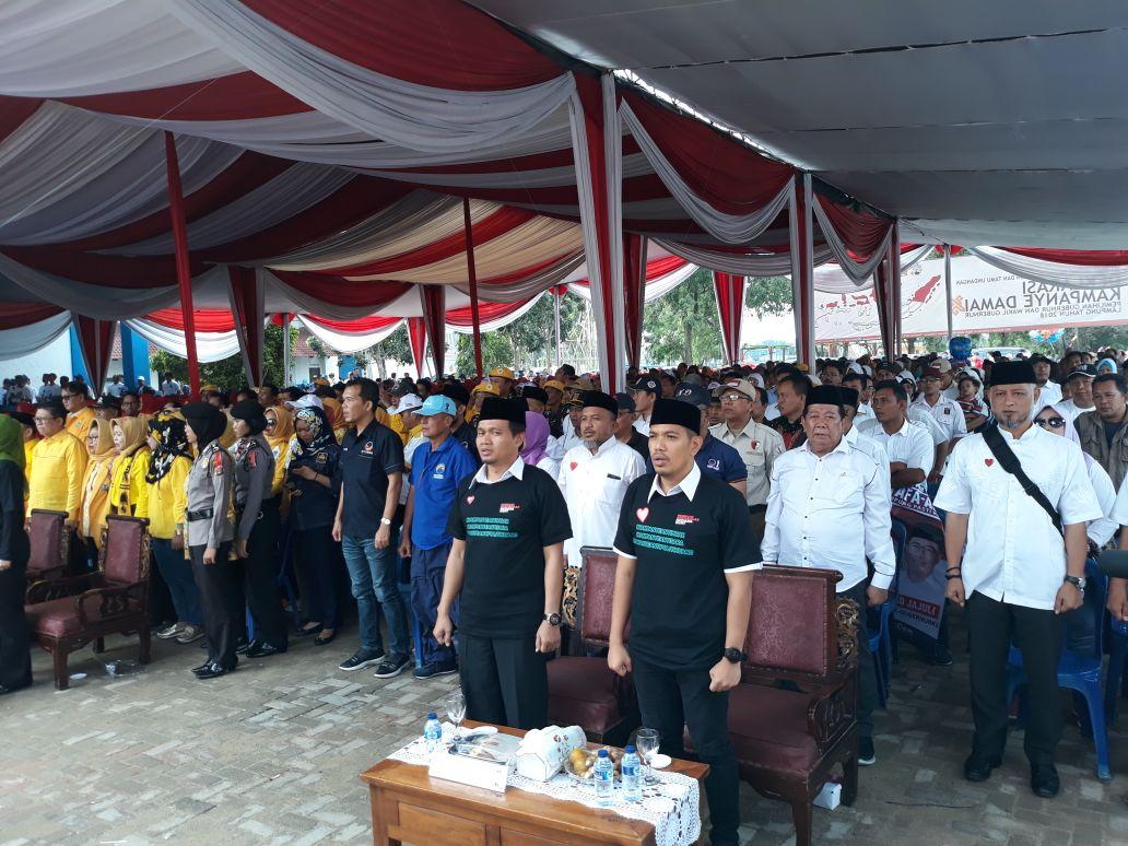 KPU Lampung Deklarasi Kampanye Damai