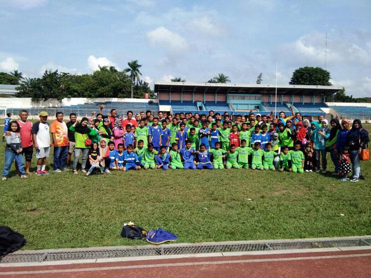 LAMPUNG POST | SSB Bina Bangsa Optimis Juarai Matador Soccer Championship 2018
