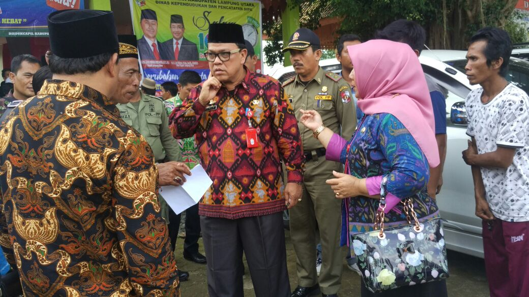 Disdukcapil dan Kemenag Lampura Lakukan Sidang Isbat Pernikahan Keliling Kecamatan
