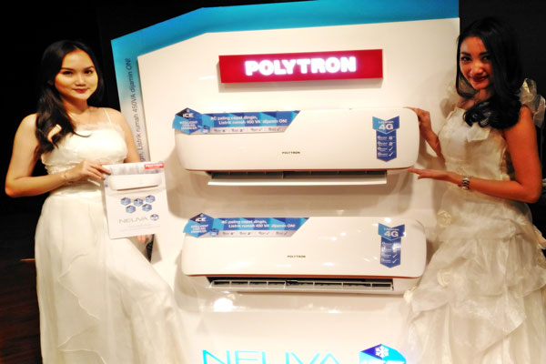 LAMPUNG POST | Polytron Beri Garansi Uang Kembali untuk AC Neuva Ice