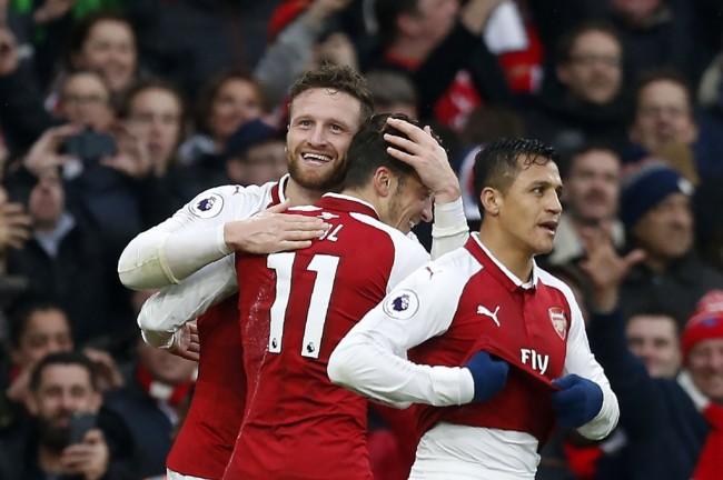 Kalahkan Tottenham, Arsenal Tembus Lima Besar