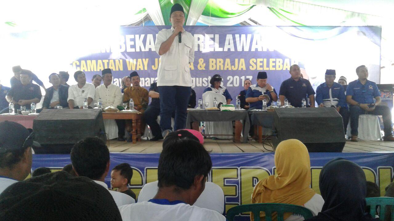 LAMPUNG POST   Ciptakan Keamanan, Mustafa Dorong Polda Tindak Tegas Penjahat